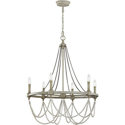 Feiss F3132/6FWO/DWW Beverly Chandelier