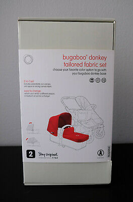 Bugaboo Donkey New Black Tailored Fabric Set