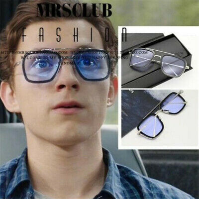 Movie Spider-Man: Homecoming Edith Glasses Peter Parker Iron Man Cosplay Prop