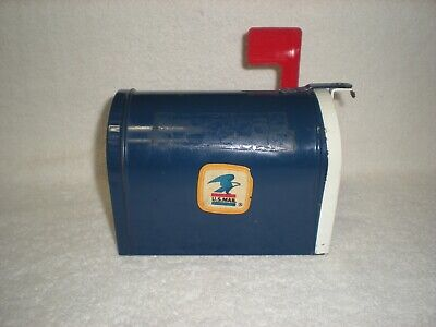 ERTL Mini U.S. Postal Metal Mail Box Bank
