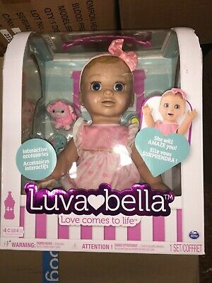 LUVABELLA BLONDE HAIR Baby Girl Doll LUVA BELLA AUTHENTIC SPIN MASTER - 2017