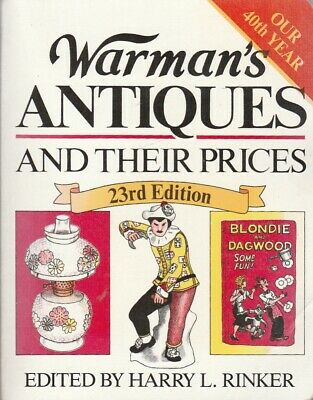 Warman s Antiques and Their Prices 23rd edition