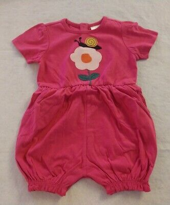 NWT Hanna Andersson Firefly Short Romper 1PC Baby Toddler Girl