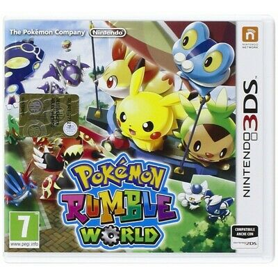 Pokemon Rumble World para Nintendo 3DS 3DSXL XL 2DS