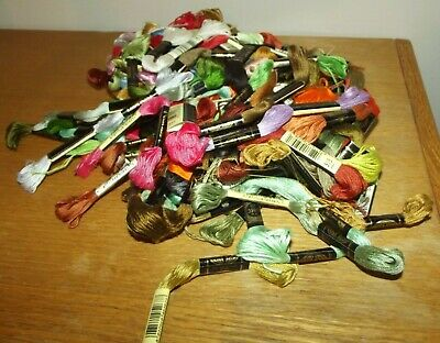 Lot 98 Skeins DMC Embroidery Floss Cross Stitch  Thread