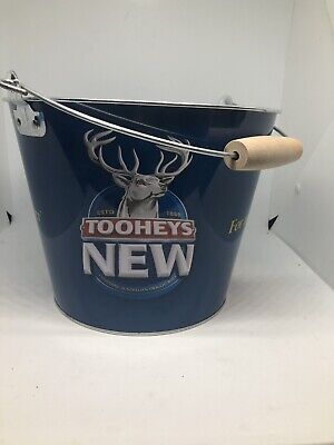 tooheys New ice bucket - white with decals