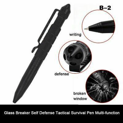 Tactical EDC Pen Self-Defense Multi Tool Camping Survival Glass-Breaker EDC Pen