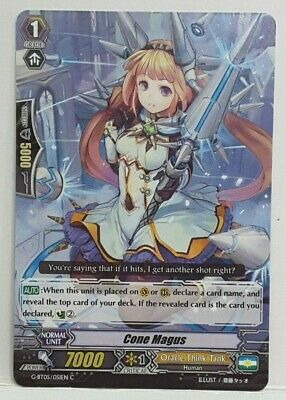 Bushiroad Cardfight!! Vanguard Cone Magus G-BT05/051EN COMMON Oracle Think Tank