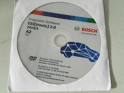 Bosch Diagnostic Software ESI [Tronic] 2.0 Year 2019/1 A2