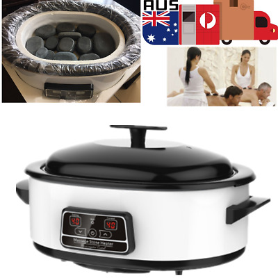 Electric Display Hot Stone Heater Massage Stone Warmer For SPA Beauty Salon GIFT