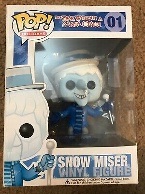 Funko Pop! Holidays Snow Miser, #01, VAULTED