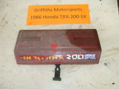 HONDA TRX300EX TRX300X TRX 300EX 300X TRX250X 250X AIR BOX LID TOP COVER 87-09