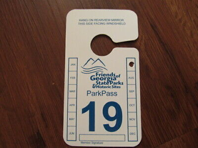 Georgia State Park Annual Pass Expires July 31 2020  $50