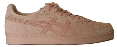 Womens Onitsuka Tiger GSM Pink Leather Suede Ladies Trainers Size UK 7  EUR 41.5