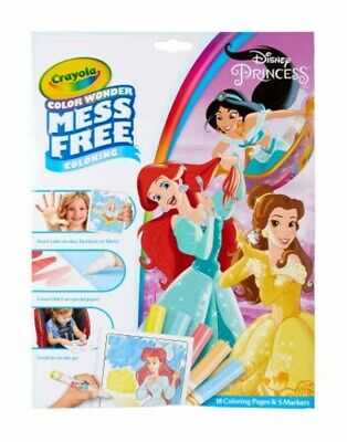 CRAYOLA - Disney Princesses Colour Wonder Foldalope