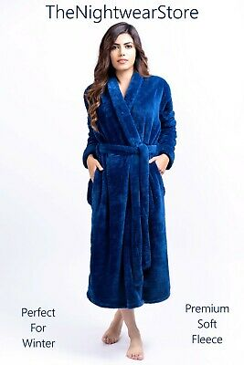 100% Cotton Terry Gown Bath Robe Dressing Gown Towelling Bath Robe Terry Towel
