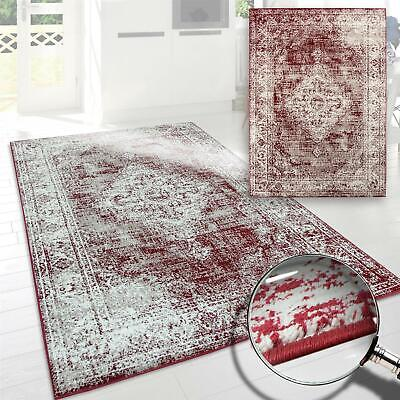 Large Red Traditional Rugs Ivory Oriental Flower Pattern Runners Carpet Rug Mats
