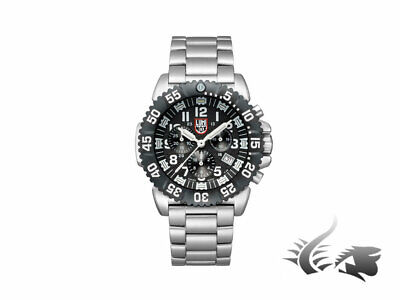 Reloj de Cuarzo Luminox Navy Seal Steel Colormark Chronograph, PVD, XS.3182