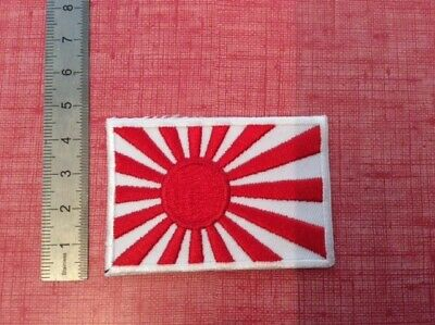 F011 Patch Ecusson Drapeau Japon