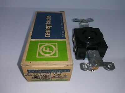 Circle F 15 Amp 125 Volt 2 Pole 3 Wire Grounding L5-15R Receptacle