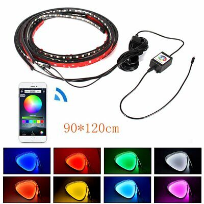 Auto LED Unterbodenbeleuchtung Atmosphare Neon Lampe Licht App Musik Control Set