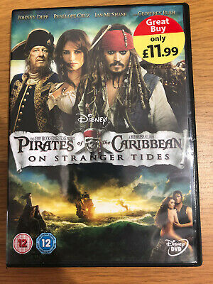 PIRATES OF THE Carribean - On Stranger Tides - DVD JYVG The