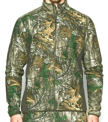 a11bb3ecdfdaa Under Armour Stealth Fleece Realtree Xtra Camo Hunting Jacket S L Mens  1279673