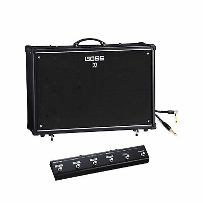 "Boss Katana-100 100-Watt 1x12"" Guitar Combo Amplifier W/GA Foot Controller&Cable"