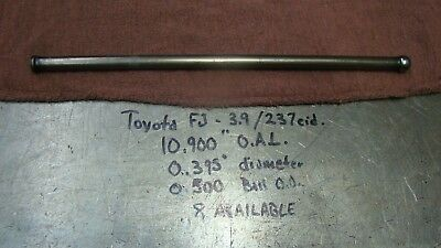 "1958-79 FJ  Toyota Land Cruiser,Used OEM Push Rods,10.9"" O.A.L, 3.9 lt/ 237 c.i."