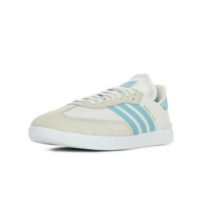 CHAUSSURES BASKETS ADIDAS homme Samba ADV taille Blanc