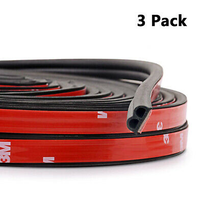 12M B-Shape Car Door Window Trim Edge Moulding Rubber Weatherstrip Seal Strip