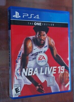 NBA Live 19: The One Edition (Sony PlayStation 4 PS4)