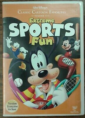 Walt Disneys Classic Cartoon Favorites Volume 5 Extreme Sports Fun (DVD, 2005)