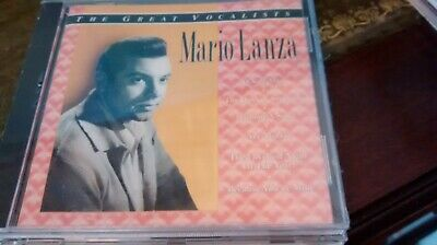 Mario Lanza-The Great Vocalists CD 20 tracks - new/sealed