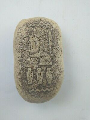 RARE ANCIENT EGYPTIAN ANTIQUE Zalat Amulet BC