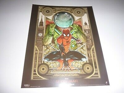 SPIDERMAN Poster Far From Home Official Odeon Movie Glossy A4 (New) Marvel