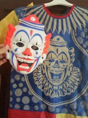 Rob Zombie Halloween Clown Mask.Collegeville Clown Mask Costume Rob Zombie Halloween