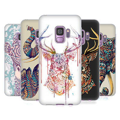 Official Bioworkz Coloured Animal Head 1 Gel Case For Samsung Phones 1
