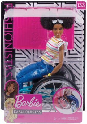 Barbie Fashionistas Doll with Wheelchair AA NEW