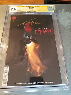 DCEASED #1 Variant  Putri Horror Movie Cover CGC SS 9.8 IT - Signed Tom Taylor