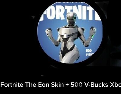 NEW FORTNITE EON Skin Excusive Bundle +500 V-BUCKS Xbox One Worldwide E-Delivery