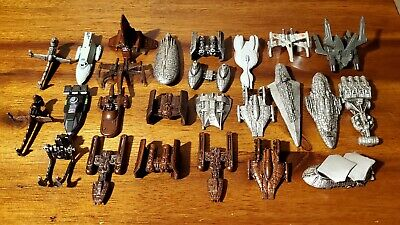 Galoob Star Wars Micro Machines Collection X-Wing Tie Bomber Star Cruiser