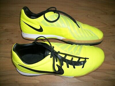 24b77ecb4 Nike Mens Rare T90 Shoot IV IC 472558-703 Green Indoor Soccer Shoes Size 12
