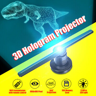 LED 3D WiFi Holographic Projector Display Fan Hologram Advertising Projection