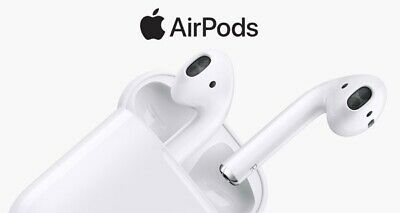 Apple AirPods Wireless Earbuds - White Free Shipping