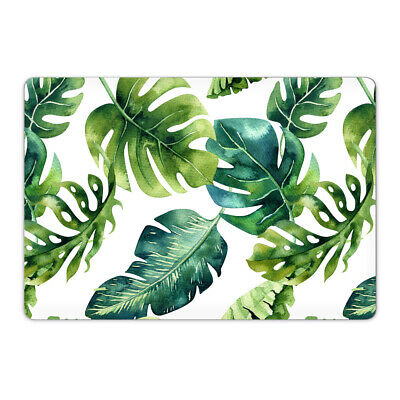 Tropical Palm Leaf Vinyl Skin Sticker Wrap to Cover Top Lid of MacBook Air Pro