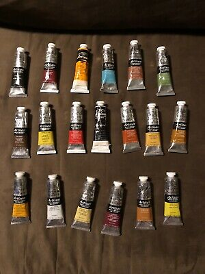 Winsor & Newton Artisan Water Mixable Oil Colour 37ml  Lot Of 19 New & No Repeat