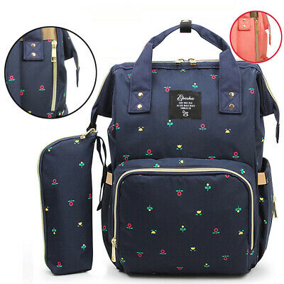 Baby Diaper Bag Waterproof Mummy Maternity Nappy Travel Fashion Nursing Backpack