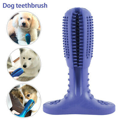 New Dog Toothbrush Toy Clean Teeth Brushing Stick Pet Brush Mouth Chewing Clean.