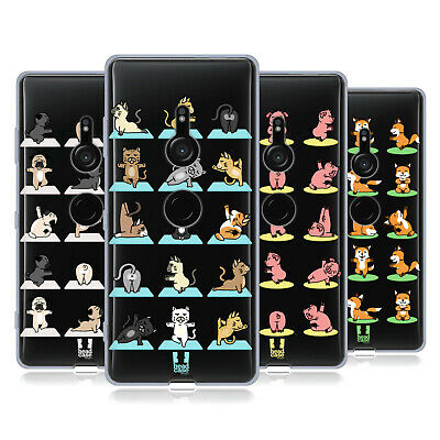 Head Case Designs Yoga Animals Gel Case For Sony Phones 1
